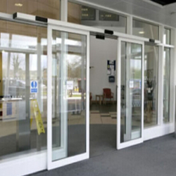 Automatic slide doors for industrial commercial healthcare and retail use. We also perform repairs and maintenance on all brands of automated doors. & ACCESS CONTROL || Aayansh Securities Systems Pvt. Ltd. Pezcame.Com